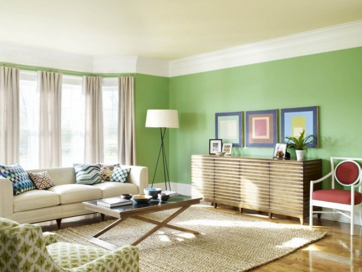 freshen your room with newly painted wall