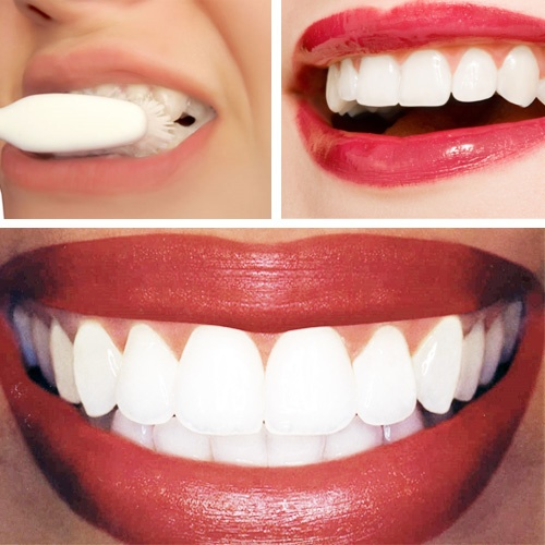 Strawberry teeth whitening recipe