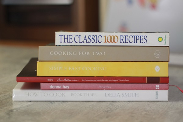 Pile Cookbooks
