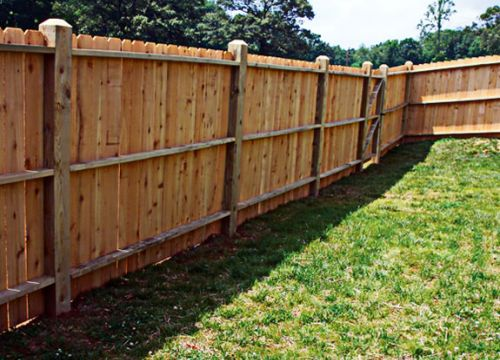 Which Is Better Stain Or Paint The Fence Green Living