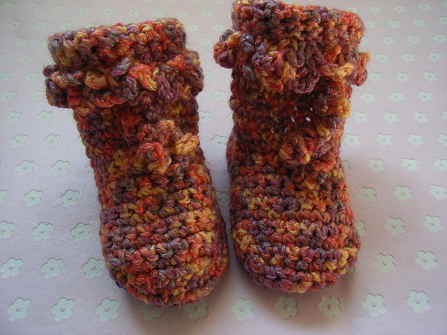 Handmade Knitted Shoes