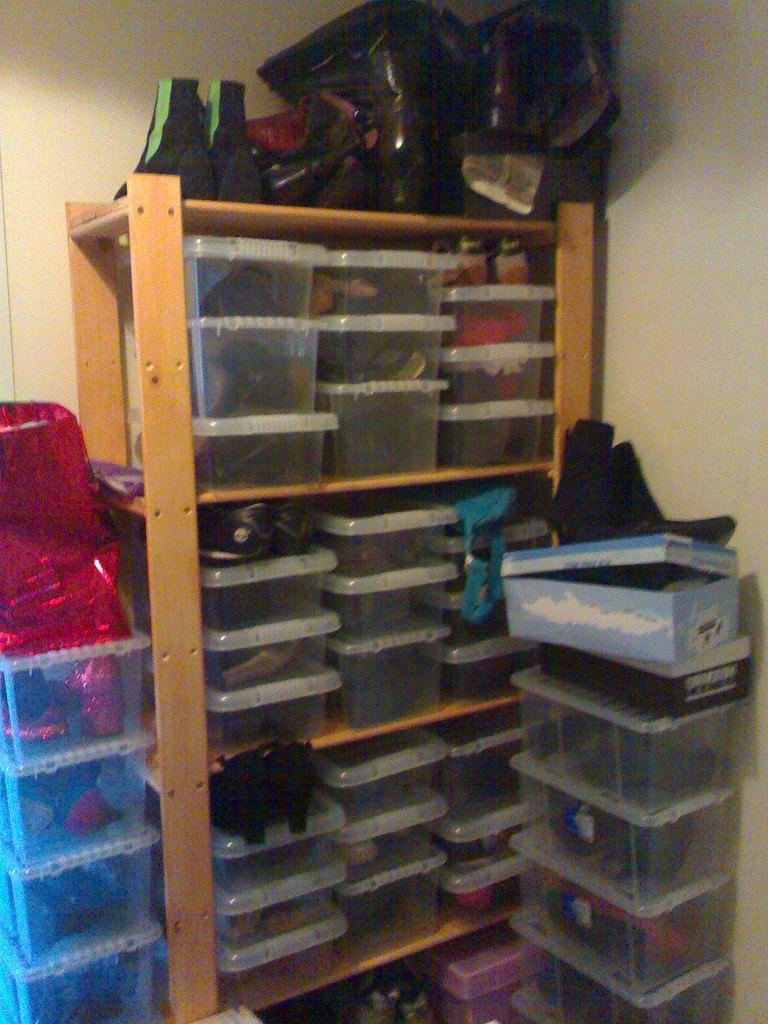 Using Shoe Boxes